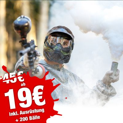 Herbst Special - 4 Std. Paintball ab 19€